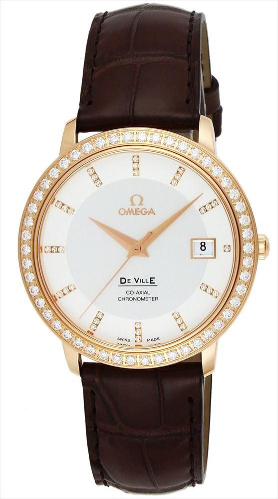 【送料無料】 【OMEGA/オメガ】 デ・ヴィル REF:413.58.37.20.52.001 メンズ腕時計 新品 人気
