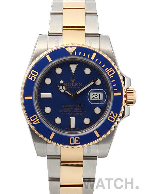 【送料無料】 ROLEX ロレックス サブマリーナデイト REF:116613LB ロレックス メンズ 腕時計 新品 人気