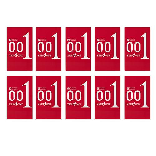【144箱セット】【送料無料】[OKAMOTO/オカモト] ZERO ONE 0.01 3個入り ゼロワンコンドーム/極薄 ゼロワン 144箱セット