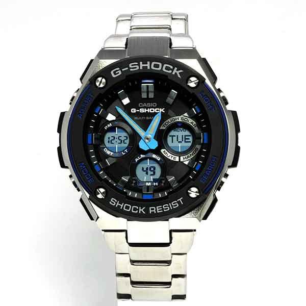 【送料無料】【CASIO/カシオ】【G-SHOCK/ジーショック】Ref:GST-W100D-1A2JF メンズ腕時計 人気[新品]
