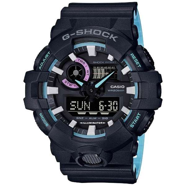 【送料無料】[CASIO/カシオ][G-SHOCK/ジーショック]GA-700PC-1AJF
