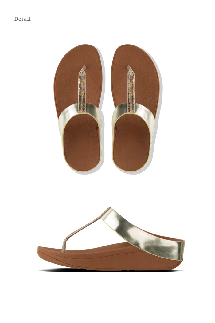 5ad56db5ed8c FITFLOP TM regular article 727032 727033 727030 727039 727068 in the spring  and summer latest fitting FLOP fino crystal toe tong sandals sale -40% OFF  フ ...