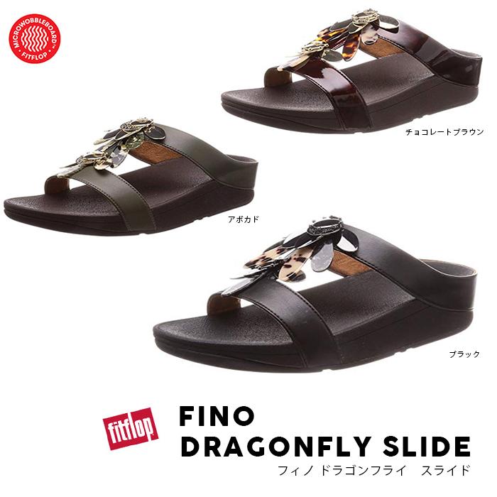 フィットフロップ FitFlop セール フィノドラゴンフライ スライド FINO DRAGONFLY SLIDE 2019春夏