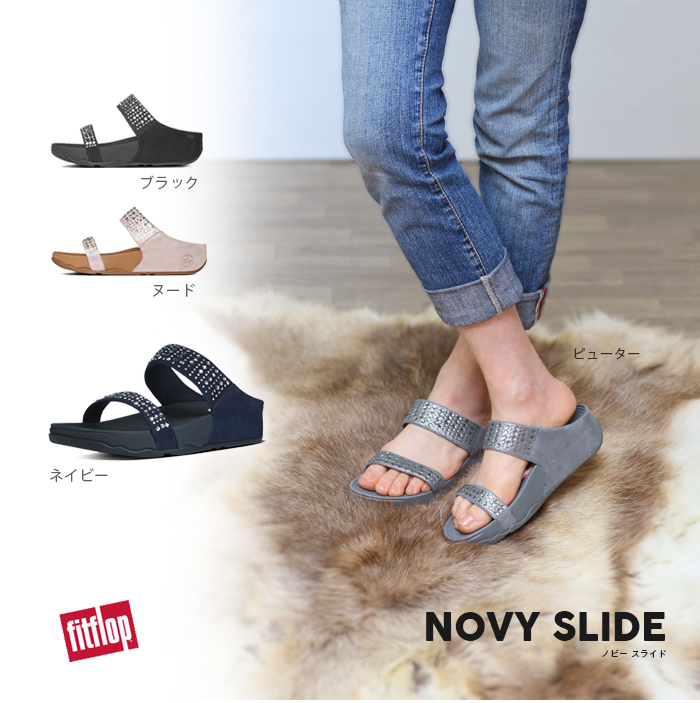 e4f4b98fc77d FITFLOP TM regular article sandals 654973 642155 642156 656255 656277 in  the spring and summer latest fitting FLOP nobby slide NOVY SLIDE sale -20%  FITFLOP ...