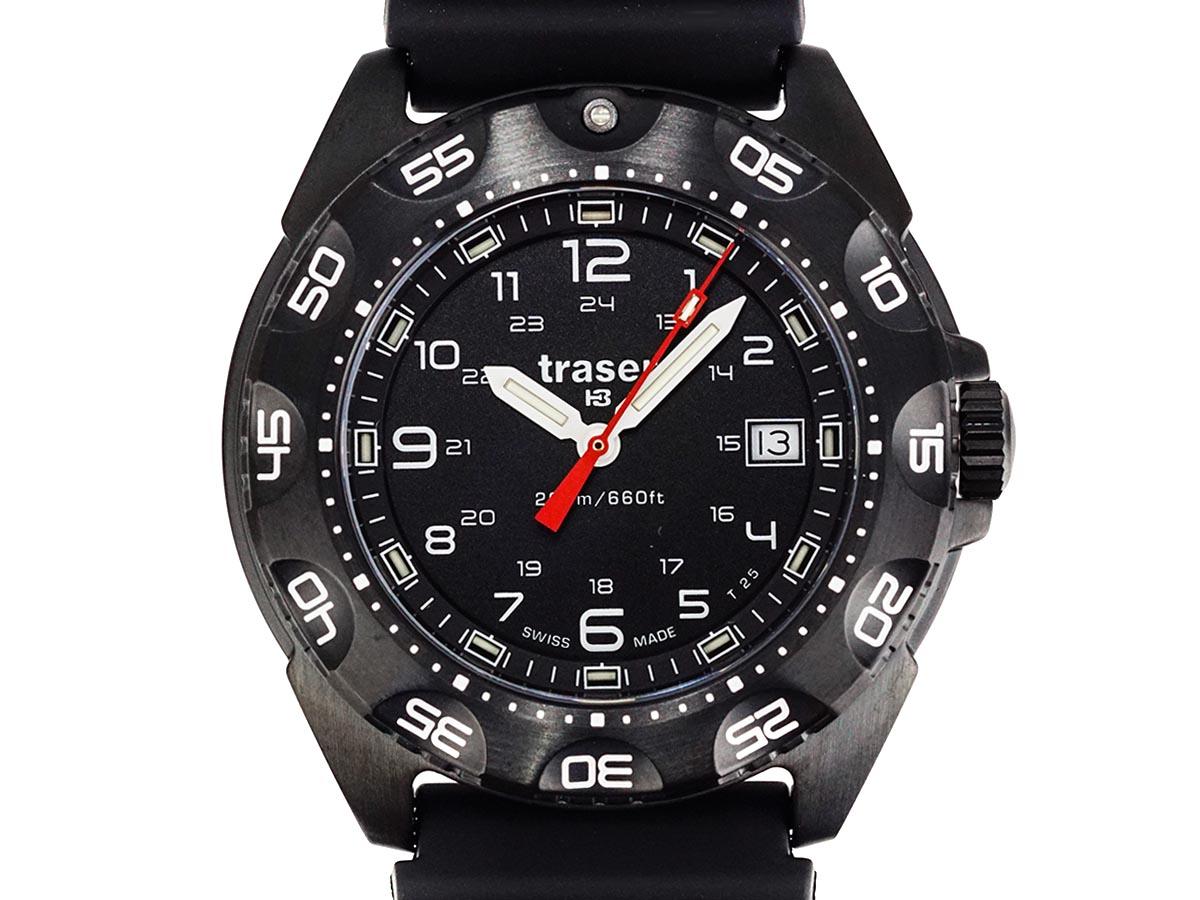 TRASER トレーサー メンズ腕時計 9031567 TORNADO PRO トルネードプロ ブラック ミリタリーウォッチ 【送料無料 並行輸入品】
