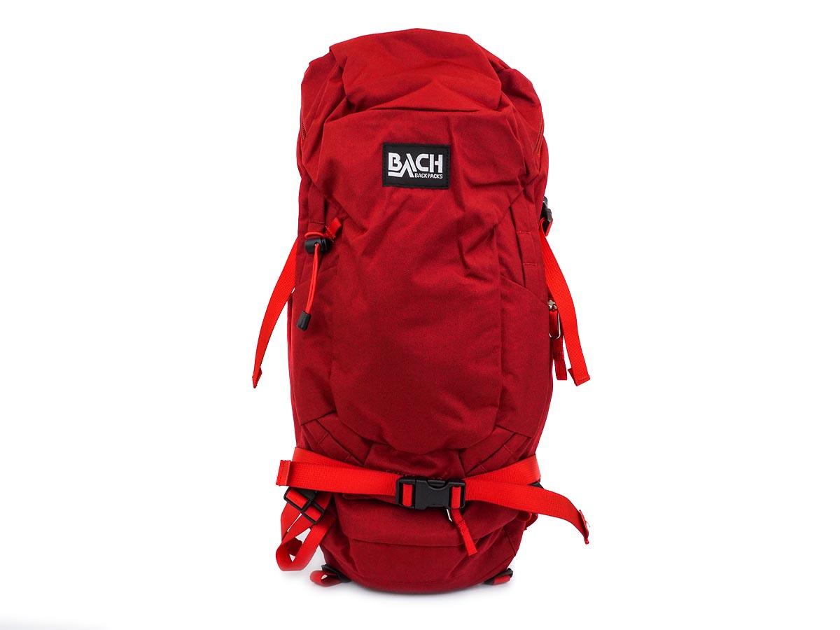 BACH バッハ バックパック 125390 SHIELD 22 RED レッド 22L メンズ レディース 男女兼用 リュックサック 【送料無料 並行輸入品】