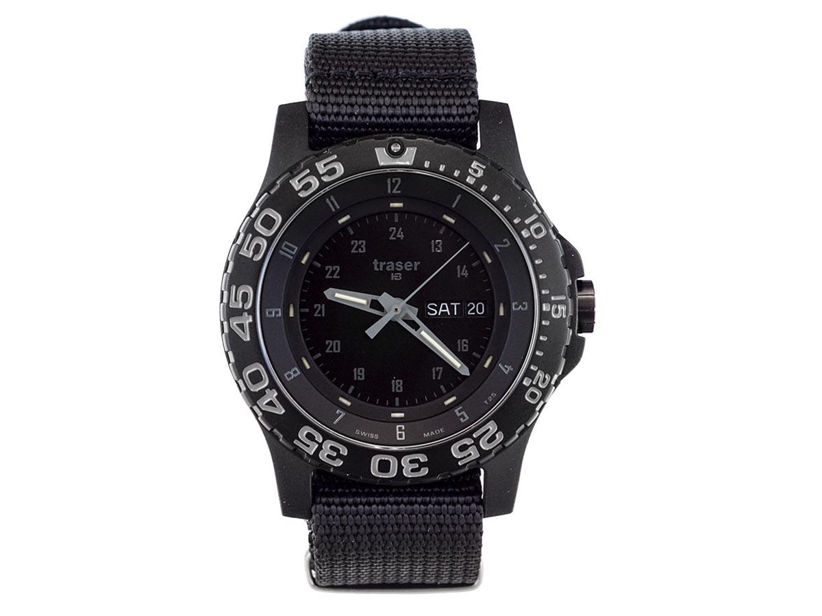 TRASER トレーサー メンズ腕時計 9031571 P6600 Shade ブラック×グレー ミリタリーウォッチ 【送料無料 並行輸入品】