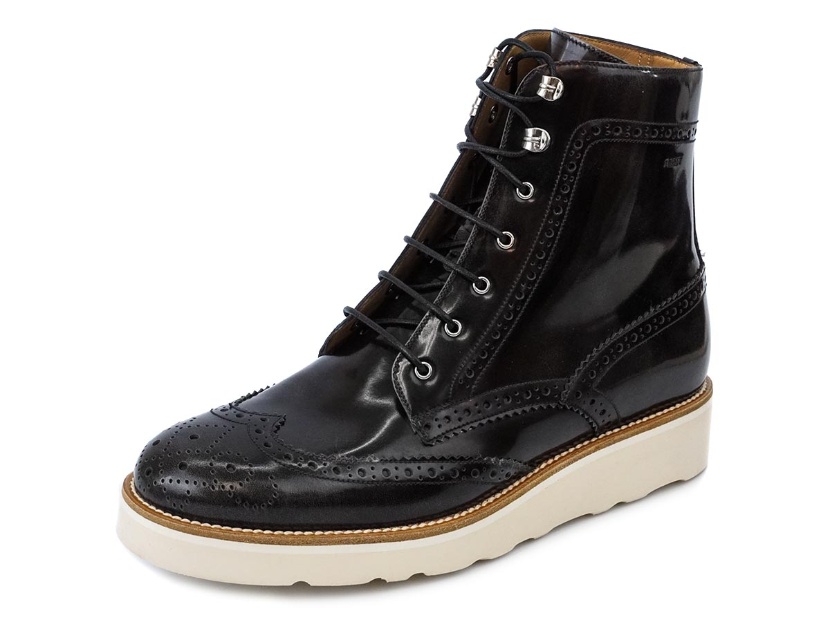 BALLY バリー 61%OFF 半額以下 革靴 6198996 COLLIMAN メンズ ショートブーツ レースアップ レザー ローファー 【送料無料 並行輸入品】