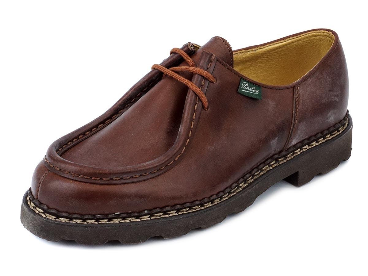 PARABOOT パラブーツ 革靴 MICHAEL 715603 メンズ 男性 ローファー シューズ MARRON ライトブラウン 【送料無料 並行輸入品】