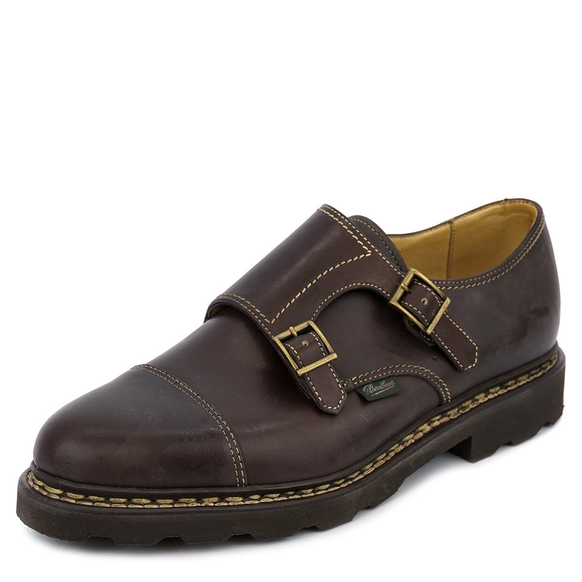 PARABOOT パラブーツ 革靴 WILLIAM ウィリアム 981413 メンズ 男性 靴 ローファー シューズ Cafe ダークブラウン サイズ9.5 【送料無料 並行輸入品】