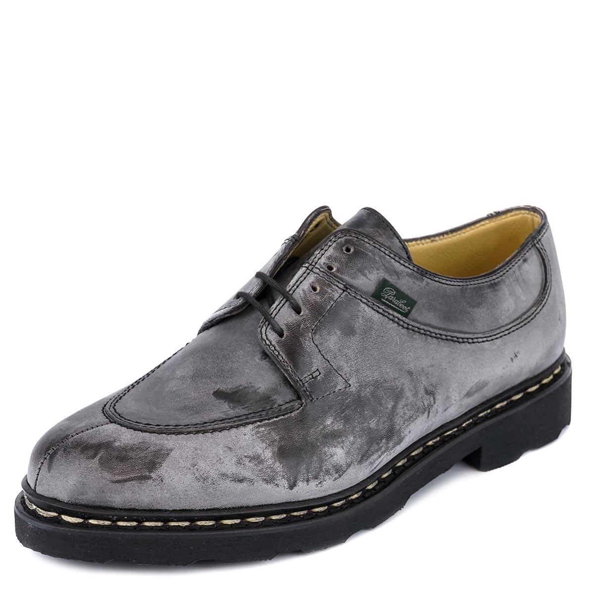 PARABOOT パラブーツ 革靴 AVIGNON アヴィニョン 705109 メンズ ローファー シューズ Noir ブラック 【送料無料 並行輸入品】
