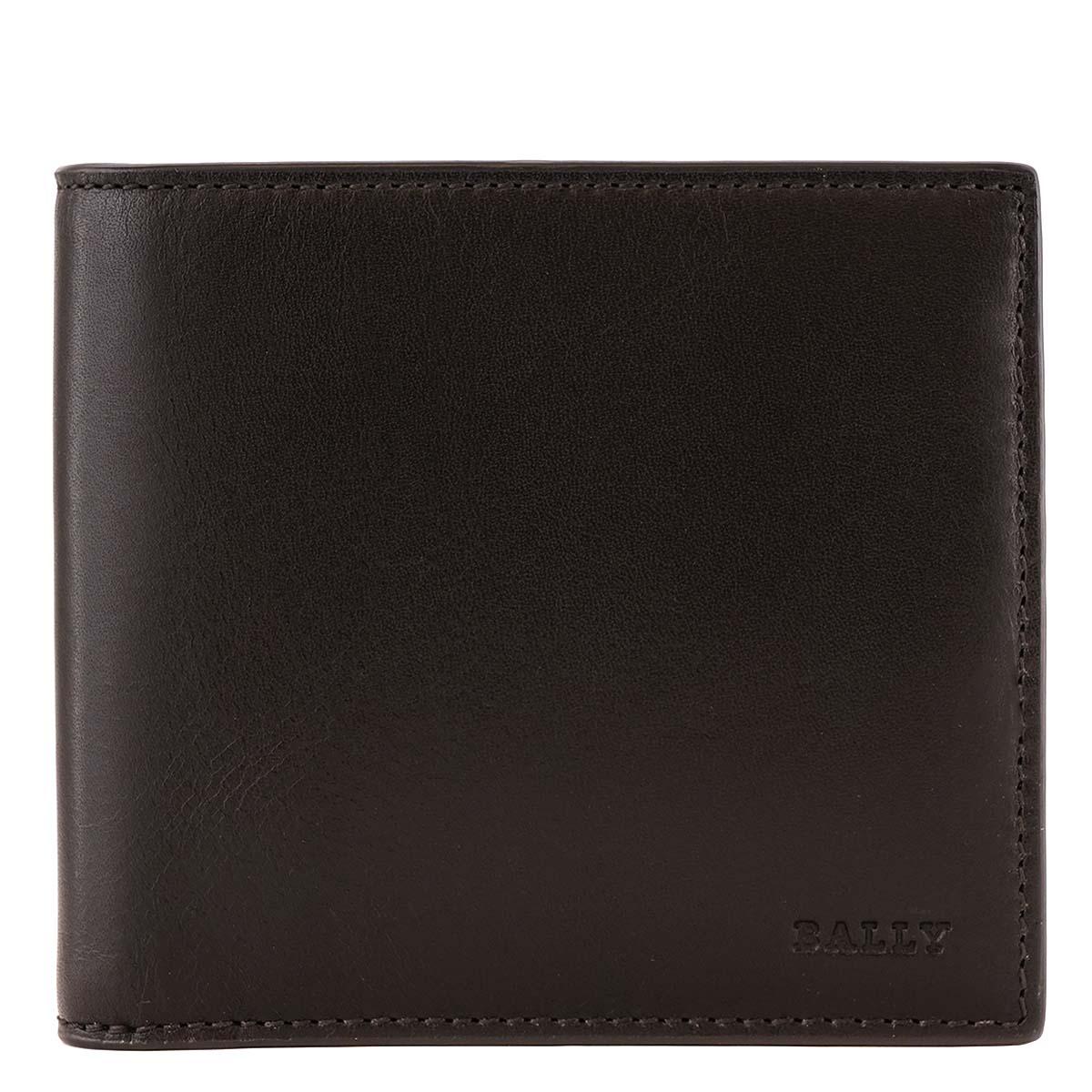 BALLY バリー 二つ折り財布 TEISEL 6222041 メンズ 男性 カードケース 301 CHOCOLATE チョコレートブラウン ウォレット【送料無料 並行輸入品】