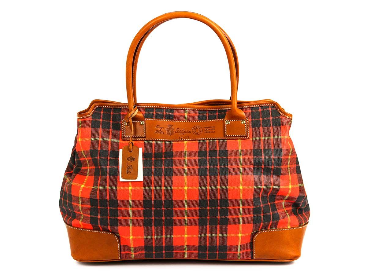 Felisi フェリージ ハンドバッグ CANVAS BAG 12/33 SO01-0001 レディース 女性 チェック柄 【送料無料 並行輸入品】