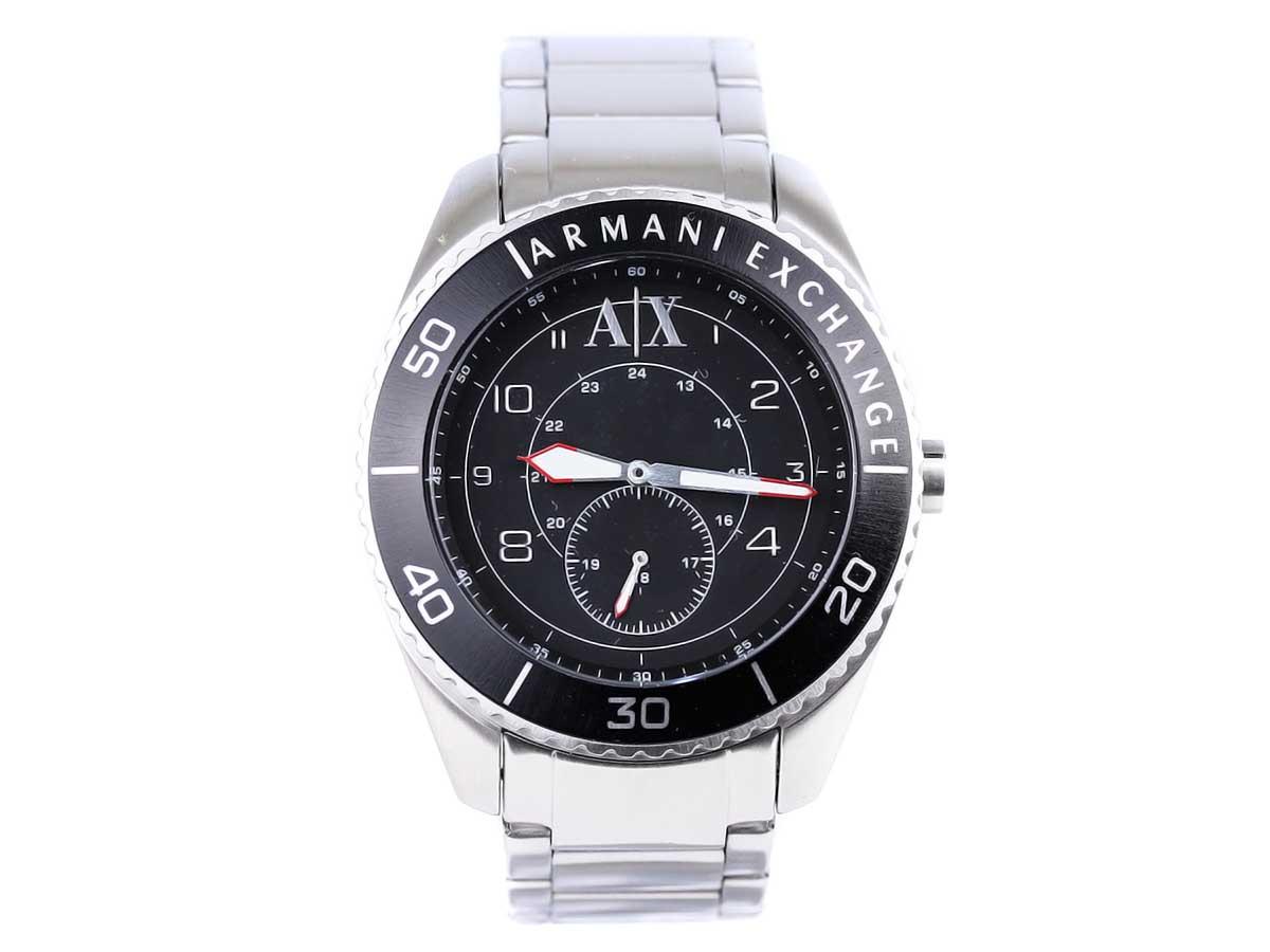 ARMANI EXCHANGE アルマーニエクスチェンジ 腕時計 AX1263 メンズ 男性 ウォッチ クオーツ SILVER シルバー【送料無料 並行輸入品】