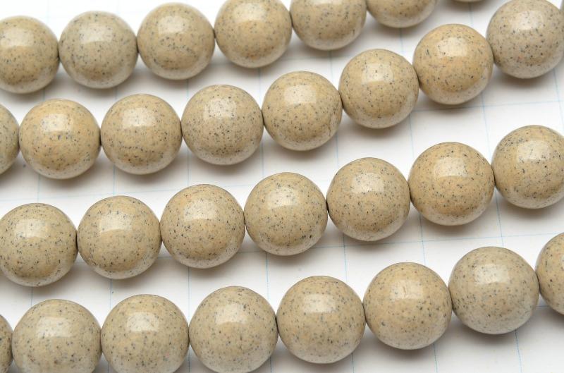 【連売り】高品質 台湾産北投石 ラウンド 10mm 1連(約38cm)天然石 パワーストーン ビーズ パーツ _R5502-10 5000円以上送料無料