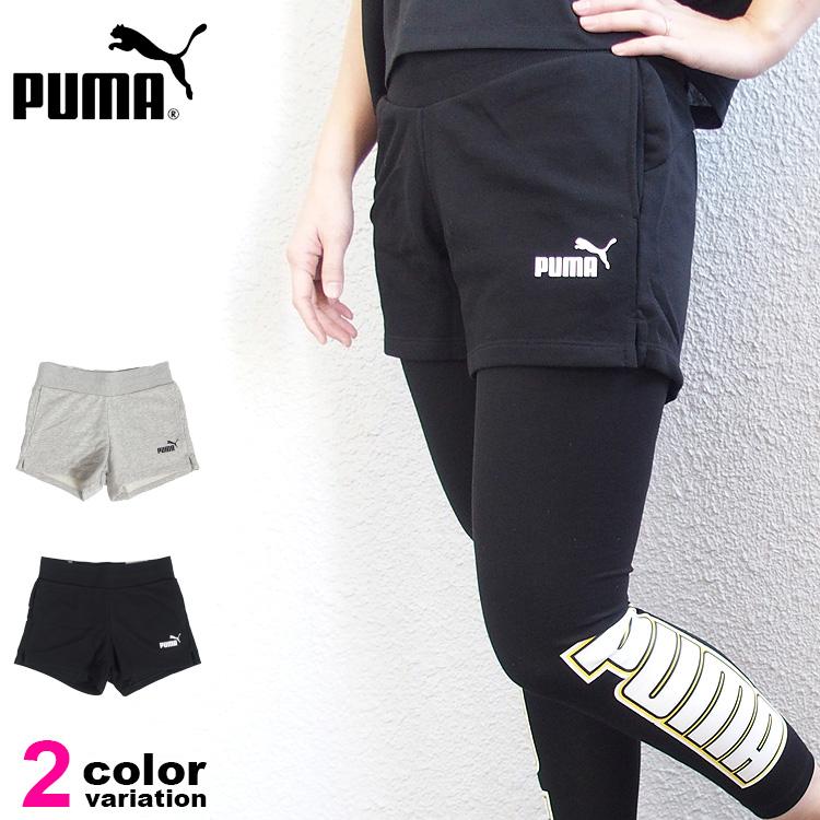 【メール便送料無料】【プーマ パンツ レディース】PUMA レディース ESS スウェット ショーツ ショートパンツ ランニングパンツ 短パン パンツ ランニング ジョギング マラソン トレーニング スポーツウェア #853911
