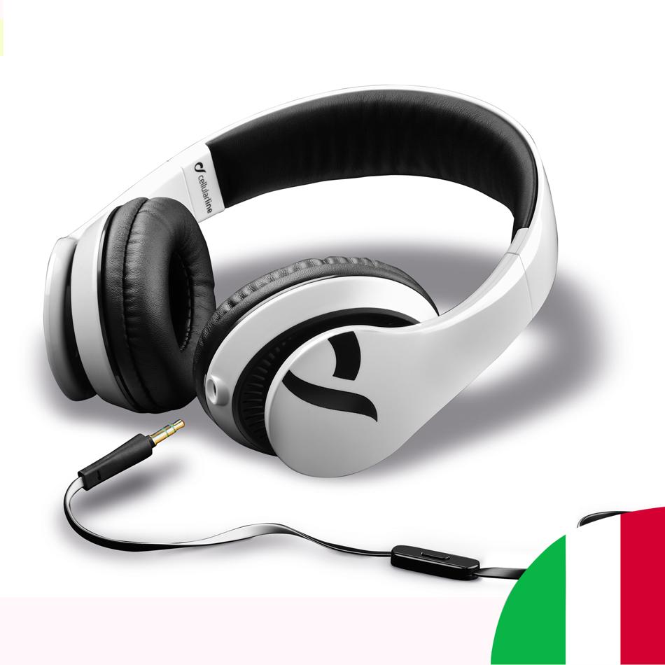 耳机时尚耳机耳机时尚 Cellularline 蜂窝电话线路电视音频摄像机音频耳机和耳机智能手机
