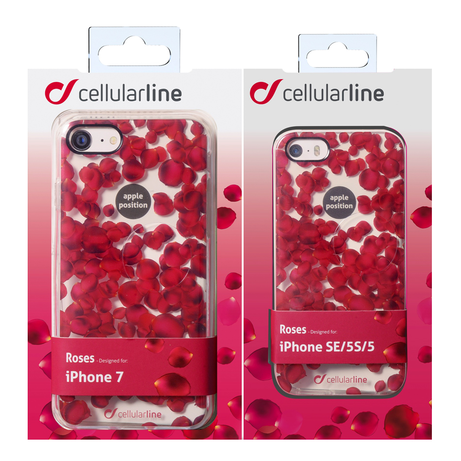 custodia iphone 7 cellularline