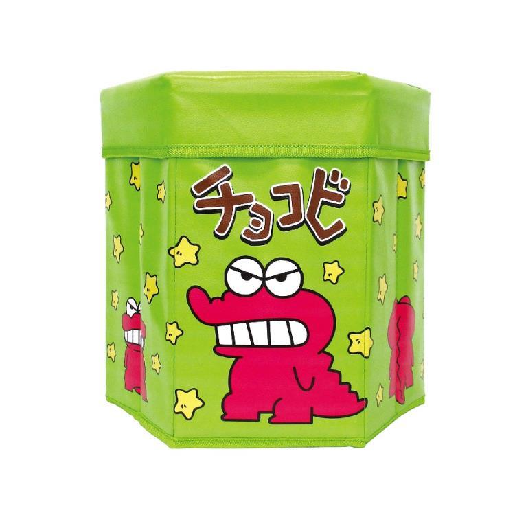 収納ボックス ストレージボックス おもちゃ箱 キャラクター  クレヨンしんちゃん チョコビストレージBOX グリーン 060245