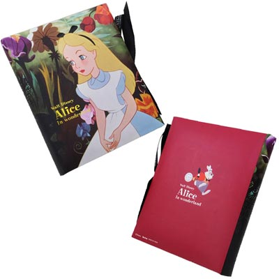 Disney Wonderland Alice toy with Ribbon-album ★ film art ★