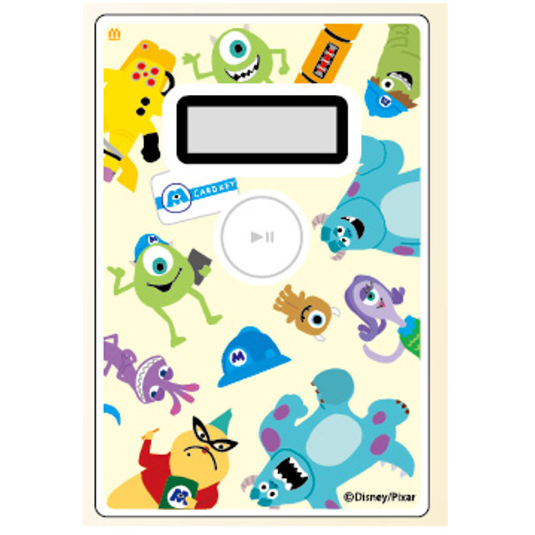 Disney Monsters Inc  goods electronic money checker for IC card 055244