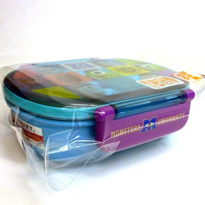 Disney monsters ink goods ● QA2BA dishwasher-adaptive tight lunch box oval gold coin ★ monsters university★