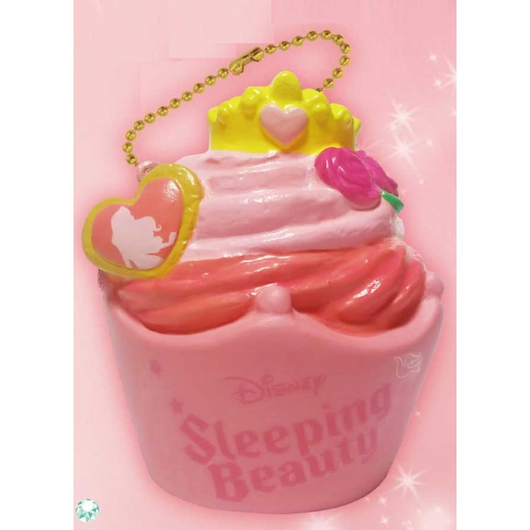 Aurora princess cupcake 628237 with the Disney Sleeping Beauty goods ぷにぷに  mascot ball chain
