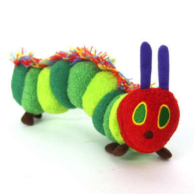 Characters Shop Laughlaugh The Very Hungry Caterpillar Plush