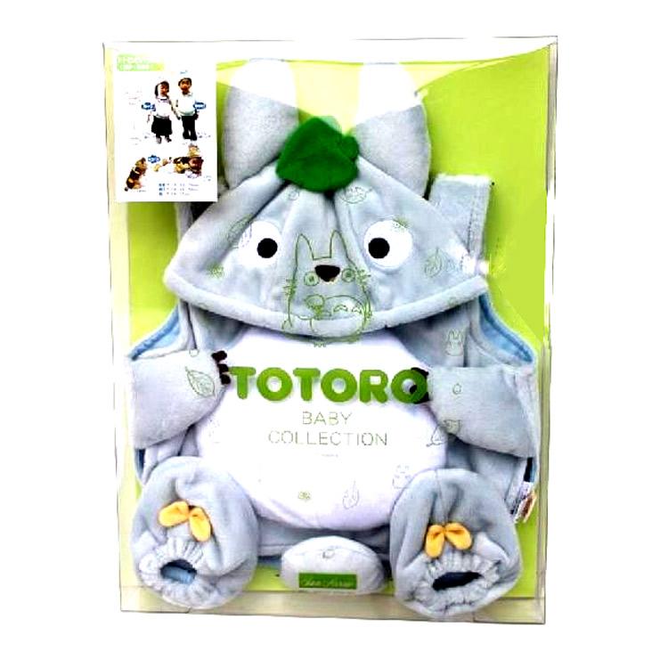 【送料無料】 となりのトトロ グッズ トトロといっしょ 中トトロ なりきりセット ベビー用品 537438