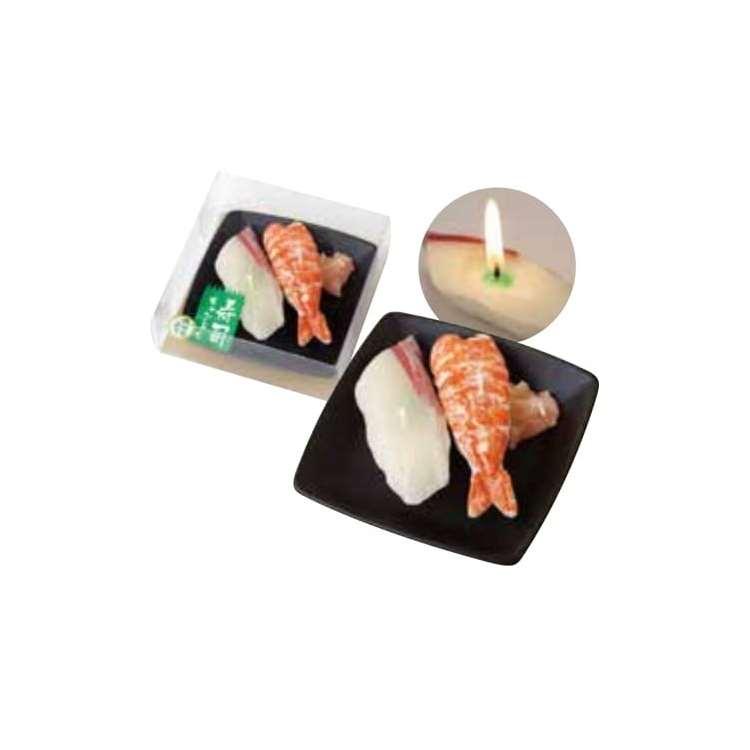 カメヤマ グッズ 寿司キャンドル B エビ・ハマチ サビ入り 好物キャンドル