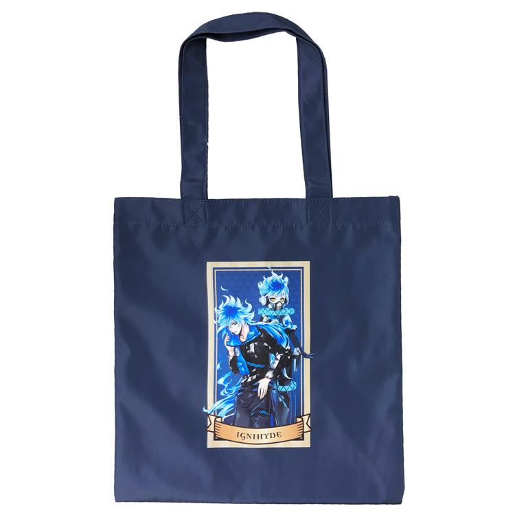 ツイステグッズ エコバッグ トート キャラクター ディズニー ツイステッドワンダーランド ラッピング不可 セール 国内正規品 フラットバッグ グッズ 価格 イグニハイド 715014