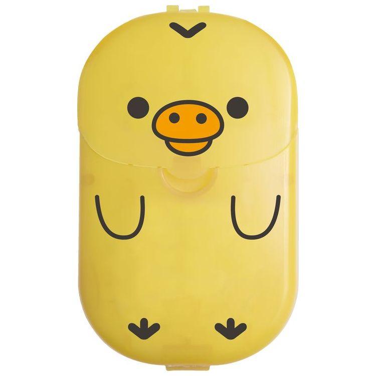 サンエックス キャラクター かわいい 新作アイテム毎日更新 エチケット 石鹸 コンパクト 紙せっけん リラックマグッズ シャボンの香り 旅行 キイロイトリ お出かけ 人気