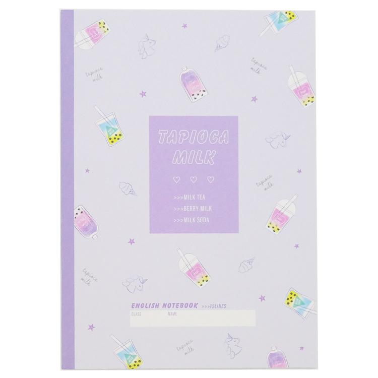 英習ノート 英語ノート 完全送料無料 英語 学習帳 ノート 英習帳15段 283899 ラッピング不可 MILK 流行 TAPIOKA