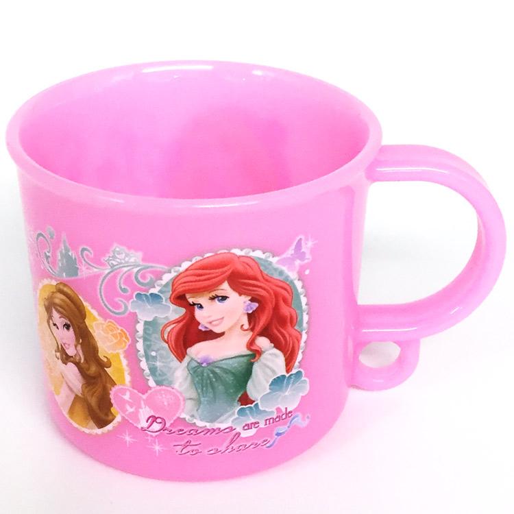 保証 ディズニー プリンセス コップ プラコップ かわいい 食洗機対応プラコップ KE5A ピンク 商い ディズニープリンセスグッズ ラッピング不可
