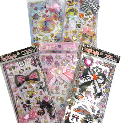 -1341 Hime Colle & スウィートガーリー seal bags (5 sheets)
