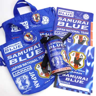 ●1480 JFA soccer representative from Japan miscellaneous goods lucky bags