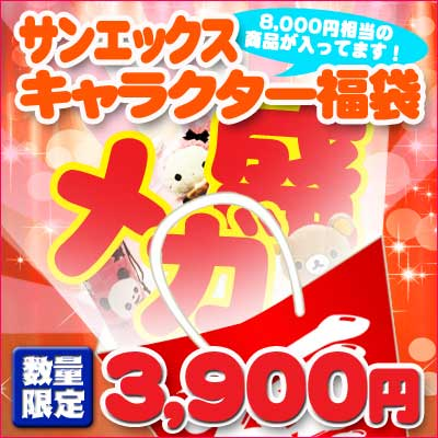 ●Lucky bag in the bloom of 1245 San-X character mega