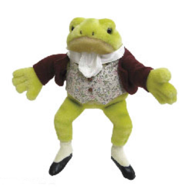 Characters Shop Laughlaugh Stuffed Animal Music Box Jeremy Fisher