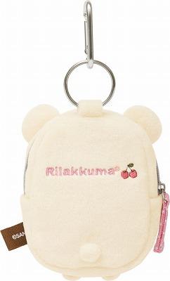 -Plush pouch small ( korilakkuma ) ★ Diecast & face series ★.