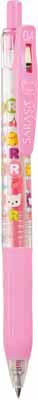 Sarasa clip (light pink)