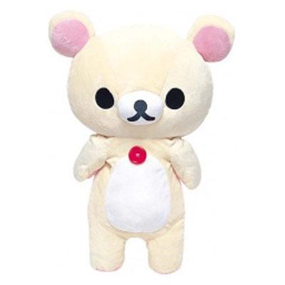 【Rilakkuma】 Stuffed Plush Toy / L ( Korilakkuma )