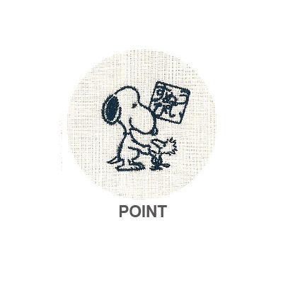 Snoopy toy mosquito net fabric cloth (DOT) ★ Japanese series ★