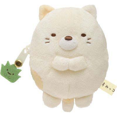 •-Plush coin purse (CAT).