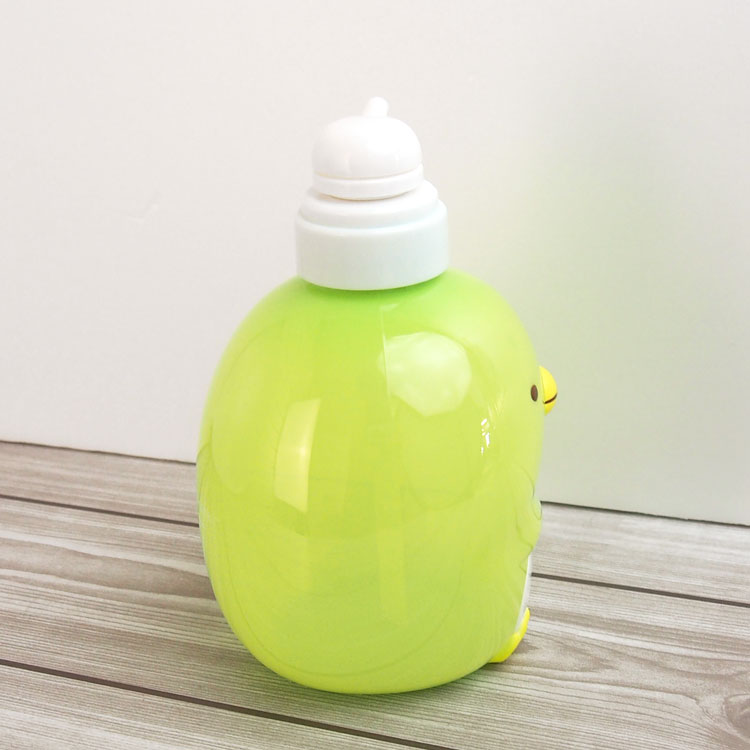 Corner life-shampoo bottle (Penguin? )