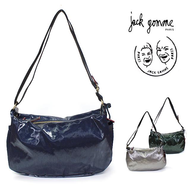 ■【JACK GOMME】ジャックゴム #1345-LIRISLight Premium/バッグ レディース/ショルダーバッグ/ライトプレミアム/防水/撥水/耐久性◎/メタリック/シルバー/ネイビー/グリーン/緑/貴重品バッグ/旅行バッグ