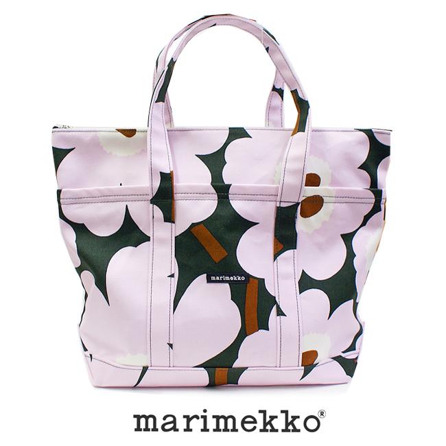 マリメッコ marimekko UUSI MINI MATKURI PIENI 47002バッグ レディース トートバッグ マザーバッグ 旅行バッグ 通勤 通学 A4バッグ おむつバッグ 花柄