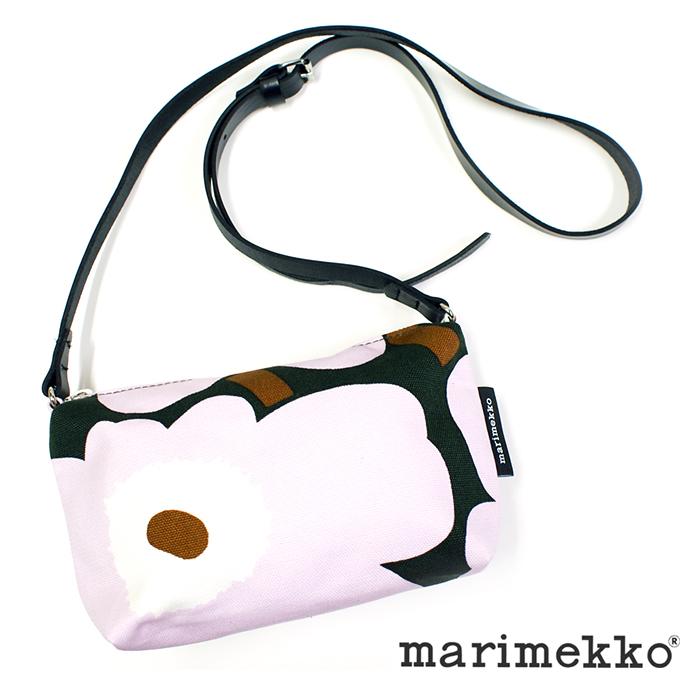 マリメッコ marimekko HELI PIENI UNIKKO 47003バッグ レディース ショルダーバッグ 旅行バッグ サブバッグ サコッシュ コットン キャンバス 花柄 正規品
