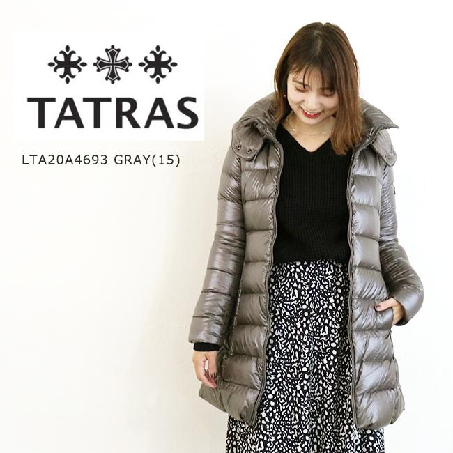 【送料無料】TATRAS(タトラス) LTA20A4693 BABILA GRAY ダウン レディース ダウンコート