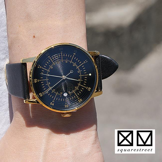 【squarestreet】スクエアストリート #PLANO 38mm ITALIAN LEATHERレディース メンズ 腕時計 イタリアンレザーベルト SQ38 ペアウォッチ/ユニセックス/誕生日プレゼント プレゼントに バーゲン