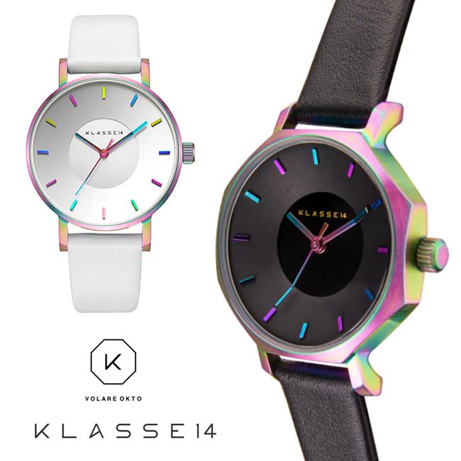 【KLASSE14】クラス14フォーティーン # VOLARE OKTO RAINBOW 28mm LEATHER BELTレディース 腕時計!OK17TI001S/OK17TI002Sレザーベルト 誕生日プレゼント プレゼントに バーゲン